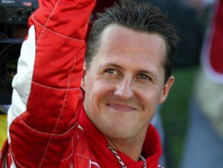 Michael Schumacher cosciente