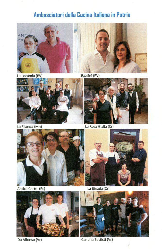 Il Bontà ambasciatori cucina italiana 2