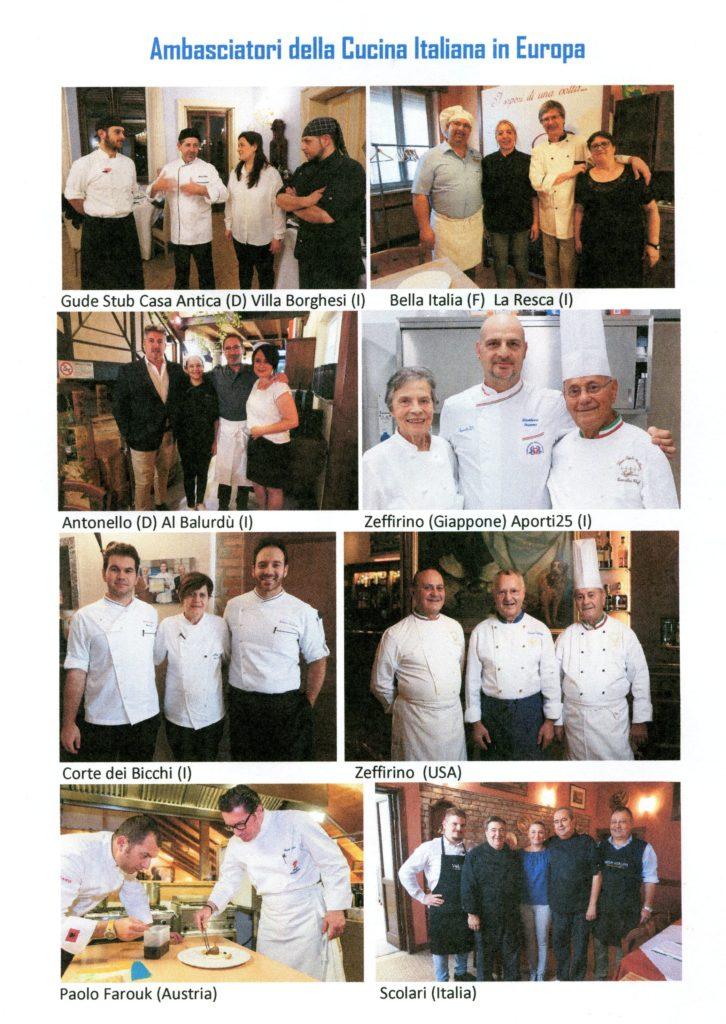 Il Bontà ambasciatori cucina italiana