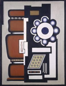 Fernand-Léger. Nature morte, Le Mouvement à billes, 1926. Kunstmuseum, Basel