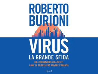 Cover del libro Virus, la grane sfida di Roberto Burioni