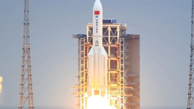 razzo spaziale cinese