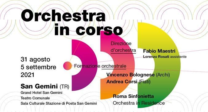 orchestra in corso